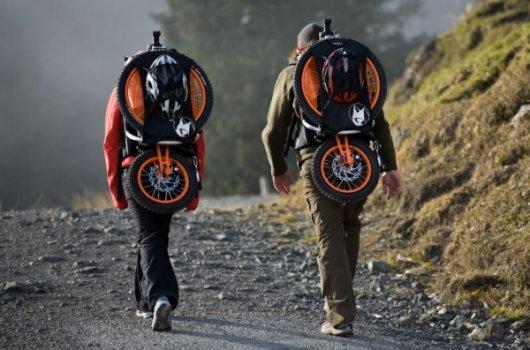 Велосипед-рюкзак Bergmoench