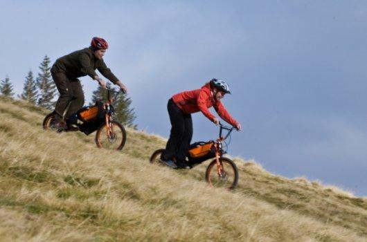 Велосипед Bergmoench для спуска со склонов
