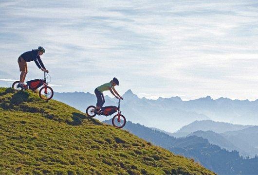Велосипед Bergmoench для спуска с горы