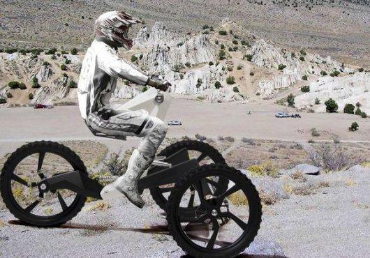 Трехколесный велосипед Кузнечик