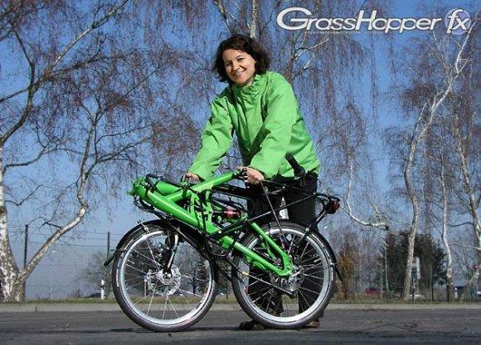 Складной велосипед Кузнечик