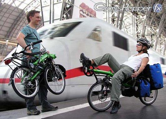 Велотрансформер GrassHopper Bike