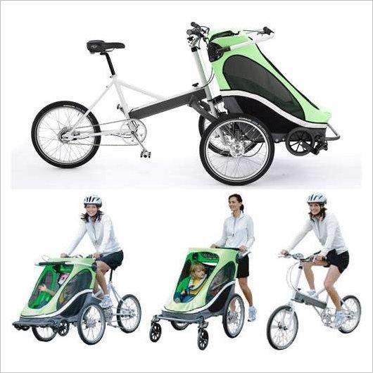 Велосипед – детская коляска Zigo Leader Carrier