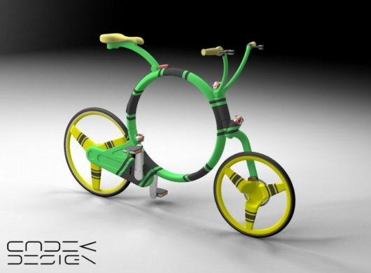 Складной велосипед Саранча