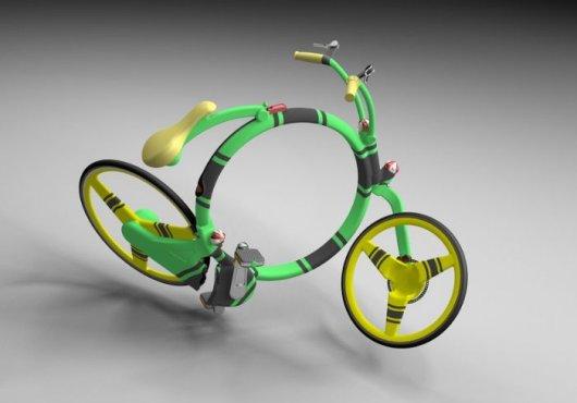 Складной велосипед Locust
