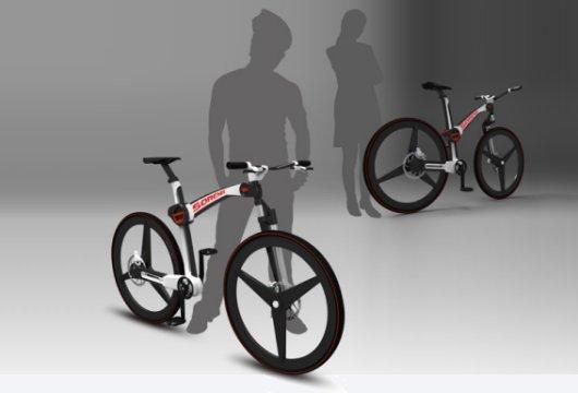 Компактный велосипед Сорена