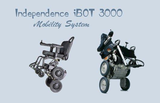Инвалидная коляска iBOT с гироскопом