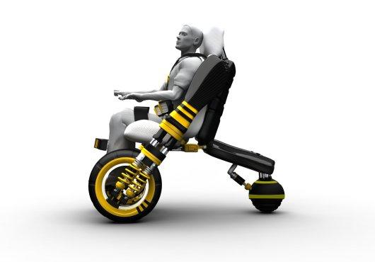 Инвалидное кресло Модив с электромотором