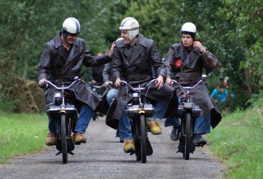 Велосипеды с двигателем Solex