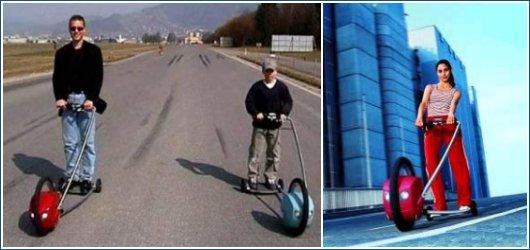 Одноколесный электротягач EasyGlider