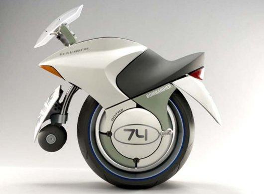 Одноколесный мотоцикл Bombardier EMBRIO