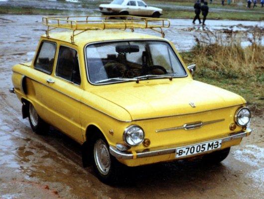 Любимый ЗАЗ 968А