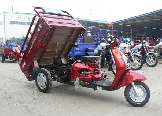 Грузовые скутеры и трициклы