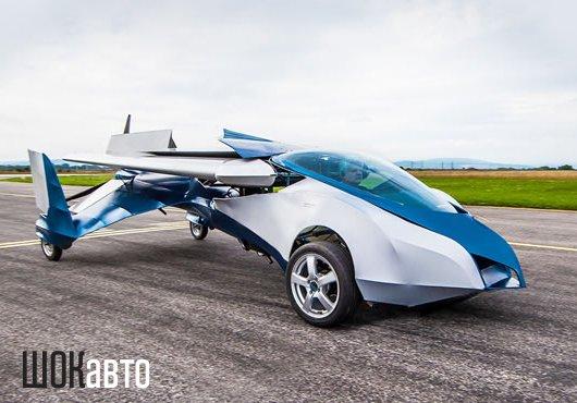Летающий автомобиль Aeromobil 2.5