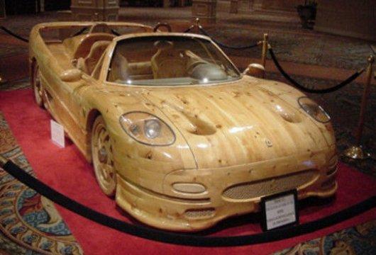 Деревянный Ferrari F50