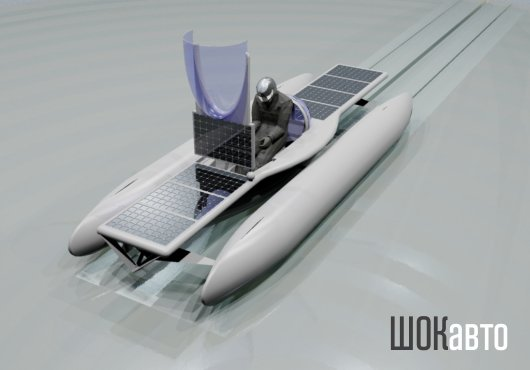 Электрический тримаран Solar Skate