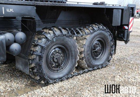 Съёмные гусеницы на грузовик