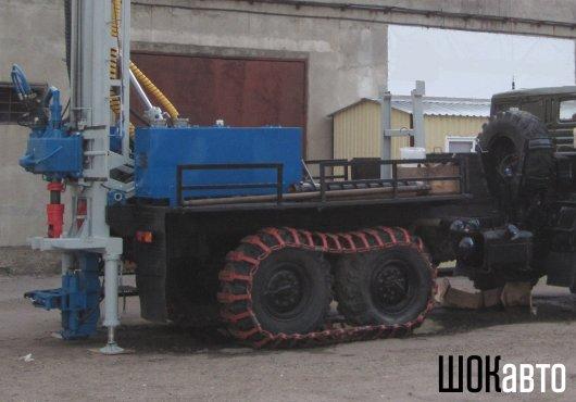 Гусениые траки на шасси грузовика