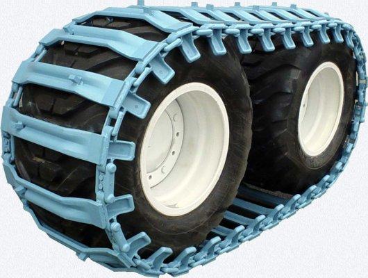 Гусеницы на колёса спецтехники