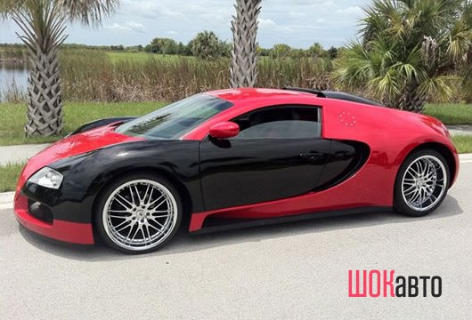Bugatti Veyron из Mercury Cougar своими руками
