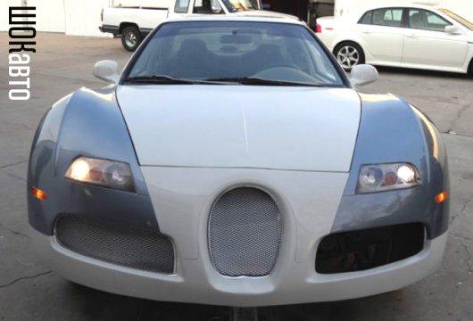 Самодельный Bugatti из Honda