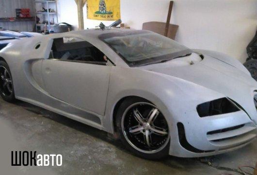 Bugatti Veyron из Volkswagen Passat своими руками