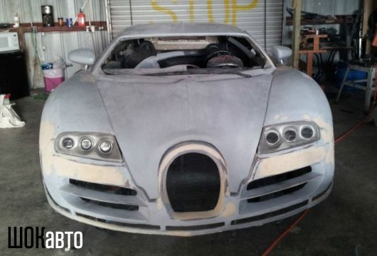 Самодельный Bugatti из VW