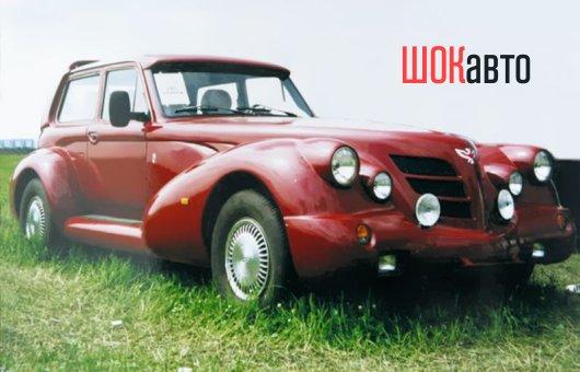 Двухмоторный автомобиль «Былина»