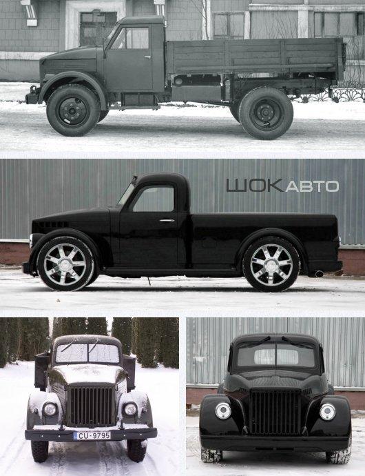 Тюнинг ГАЗ-51