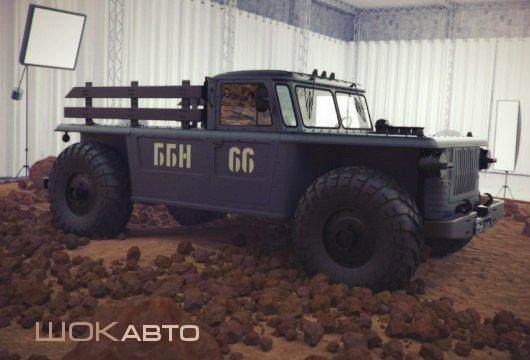 GAZ-66 Custom Pickup