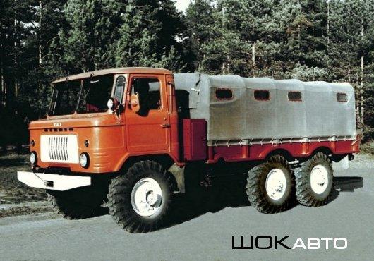 Военный грузовик ГАЗ-34 6×6