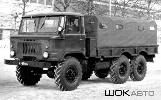 Армейский грузовик ГАЗ-34 6×6