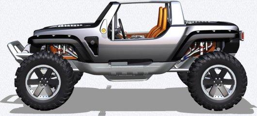 Технические характеристики Jeep Hurricane