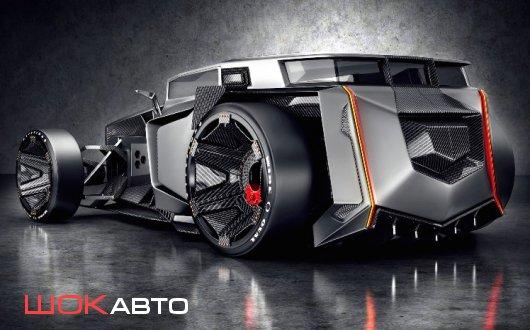 3D-Concept Lamborghini Rat Rod