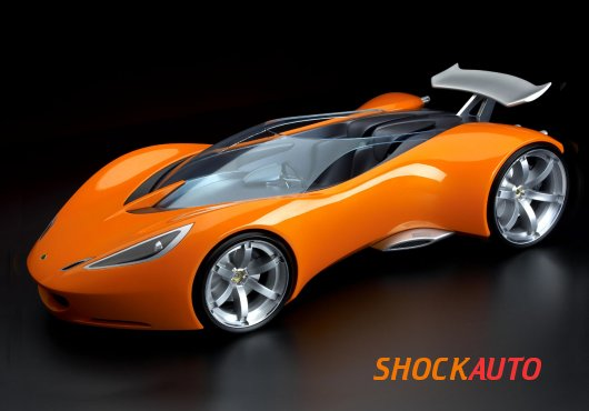 Суперкар Lotus Hot Wheels Concept
