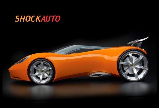 Открытый родстер Lotus Hot Wheels Concept