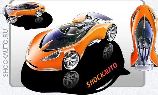 Спорткар Lotus Hot Wheels Concept