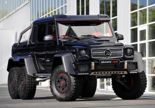 Тюнинг Mercedes-Benz G 63 AMG 6×6