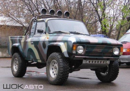 Пикап-внедорожник «Бизон-1» на базе «Москвич-412»