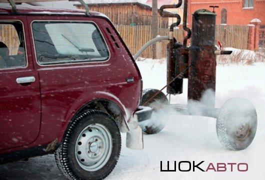 Автодрова в дровобаке машины