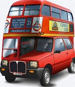 Двухэтажный автобус Ока