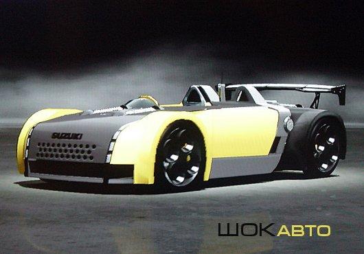 Sport car Suzuki GSX-R/4