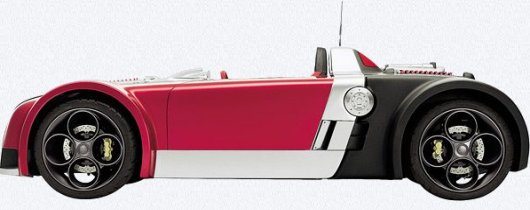Гоночный миникар Suzuki GSX-R/4