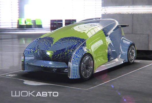 Телефонизированный автомобиль Toyota Fun Vii