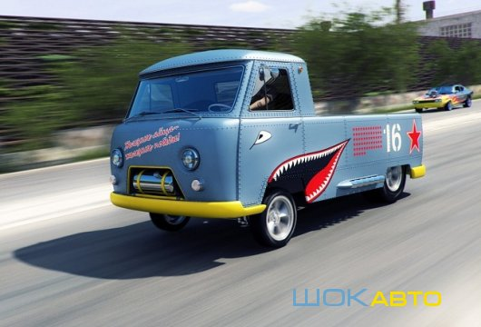 Хот-Род УАЗ-3741 Гассер