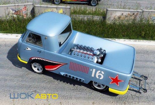 Хот-Род из УАЗ-3741 Буханка