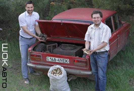 Жигули ВАЗ-2103 на дровах