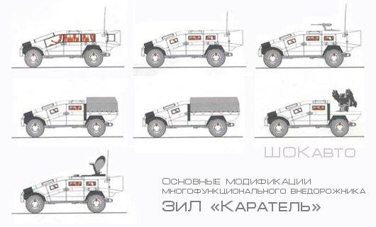 Специальный бронированный автомобиль 3иЛ-3901С1 «Каратель»