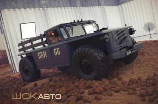 Пикап ББН-66: армейская «Шишига»