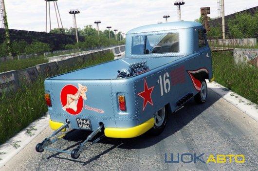 Гоночный Hot-Rod UAZ-3741 Gasser
